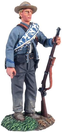 31131 - Confederate Standing in Reserve Resting Musket No.1