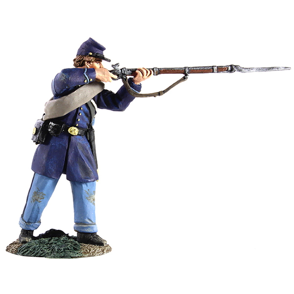31230 - Federal Infantry Corporal Standing Firing