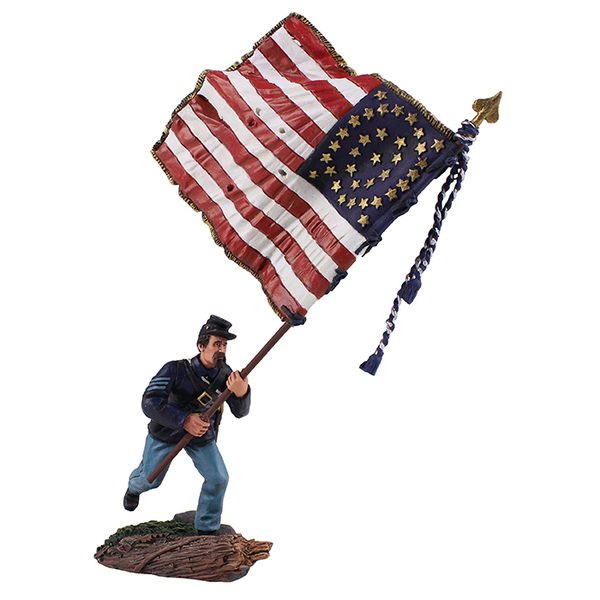 Historical Miniature Toy Soldier American Civil War Matte 31246