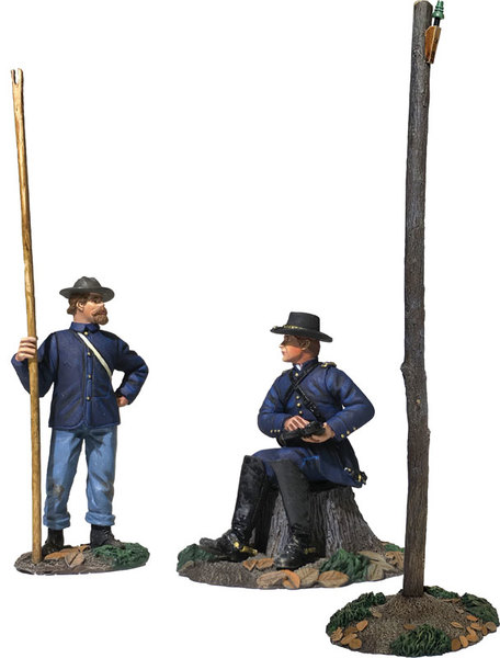 Historical Miniature Toy Soldiers American Civil War Matte 31259