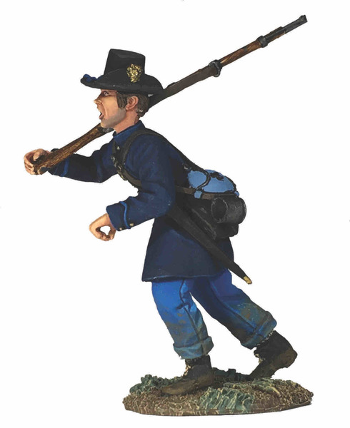 Federal Iron Brigade Advancing at Right Shoulder No.5