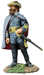 W Britain toy soldiers Civil War 31301 - Confederate General J.E.B. Stuart