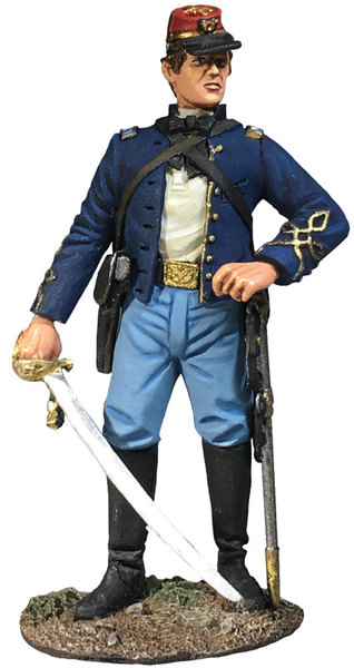 31303 - Union Infantry 146th NY Zouave Officer No. 1