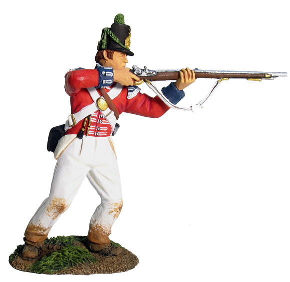 36000 - British Coldstream Guards Light Company Standing Firing No.1