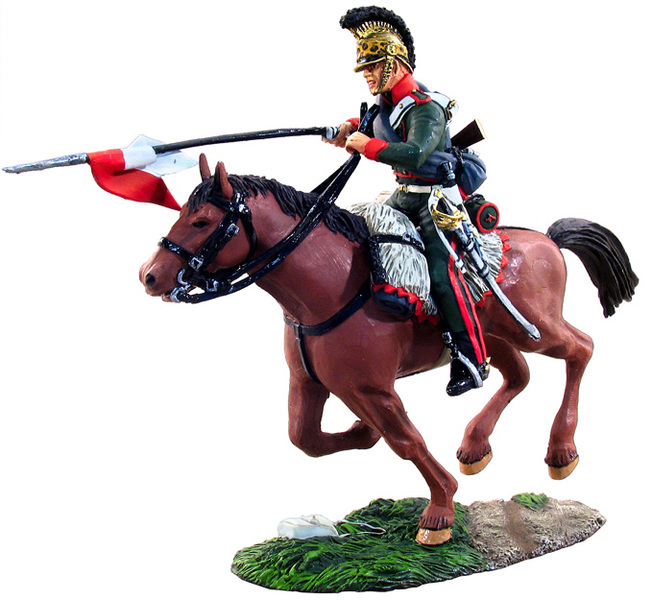 36015 - French 4th Lancers Trooper Charging No.1