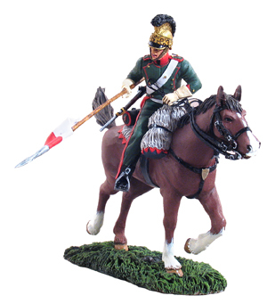 36025 - French 4th Lancers Trooper Charging No.2