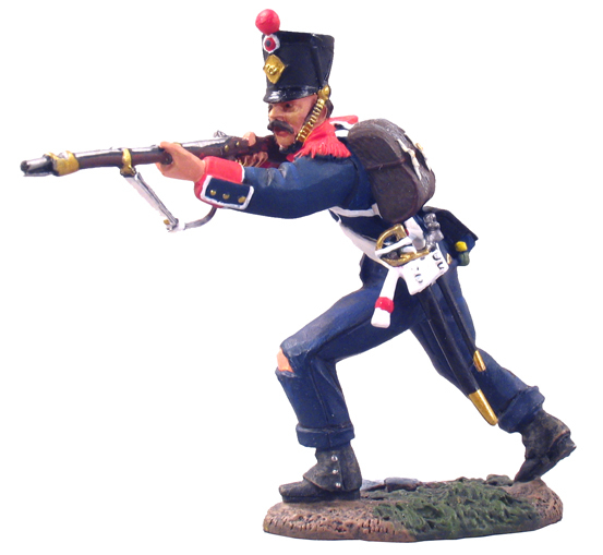 36031 - French Light Infantry Voltigeur Standing Firing No.1