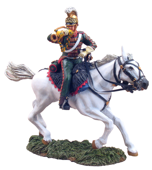 36035 - French 4th Lancers Bugler Charging No.1