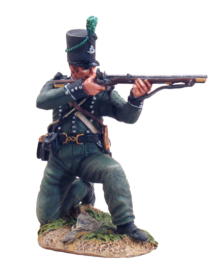 36039 - British 95th Rifleman Kneeling Firing No.1