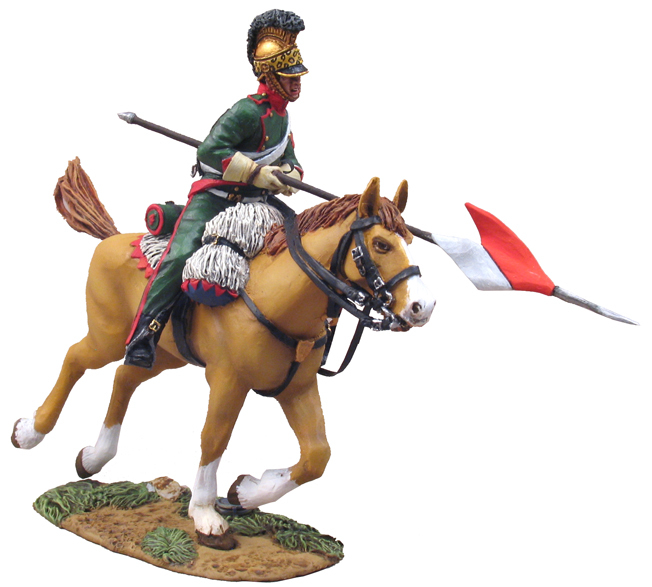 36044 - French 4th Lancer Corporal Charging No.3