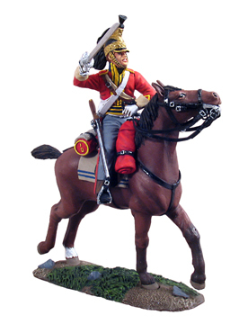 36055 - British 1st Royal Dragoon Trooper Charging No.1