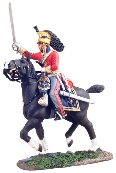 36056 - British 1st Royal Dragoon Officer Charging