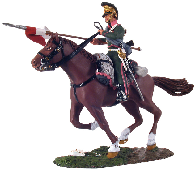 36068 - French 3rd Lancers Trooper Charging No.1