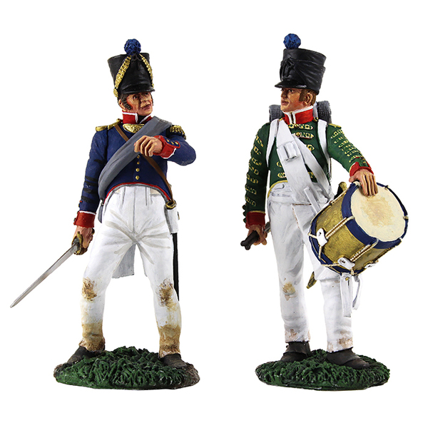 36141 Napoleonic Matte Soldiers