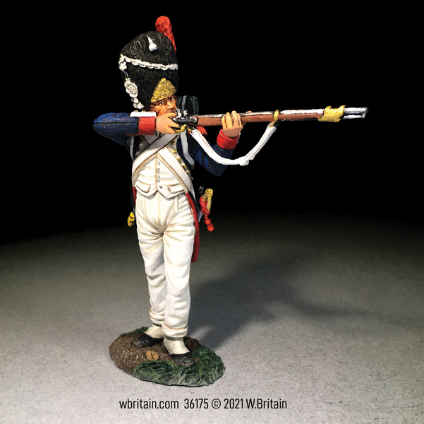 36175 Britains French Old Guard 2nd Rank Standing Firing