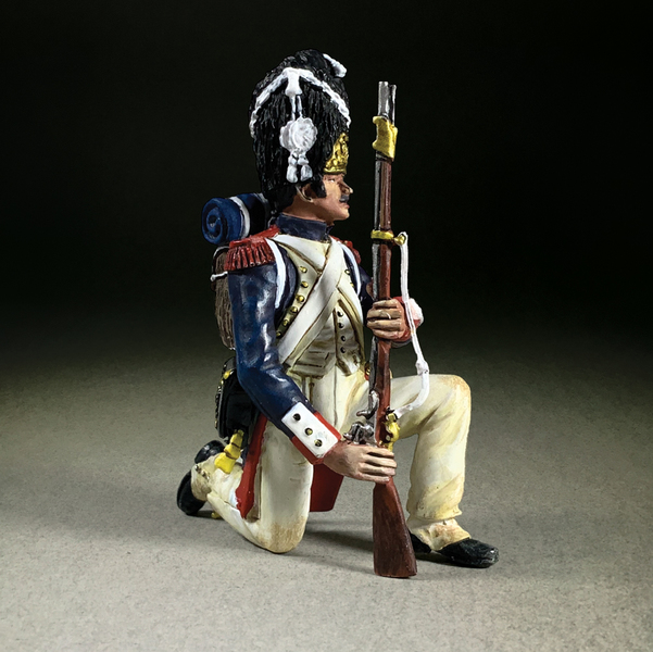 36179 - French Imperial Guard Kneeling Make Ready