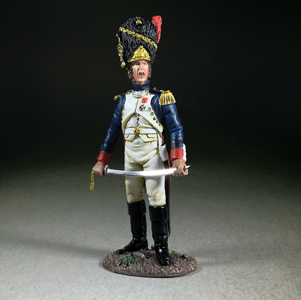 36189 - French Imperial Guard Company Officer No. 2, 1815
