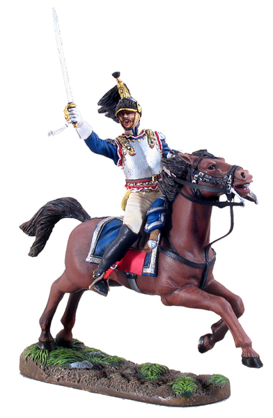 39001 - French Officer - 12th Regiment of Cuirassiers - Battle of Friedland - June 14, 1807