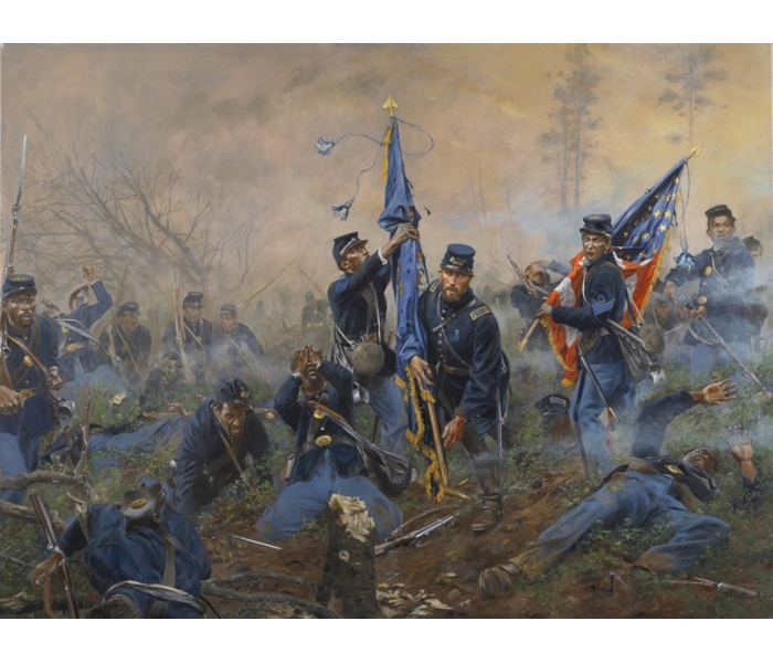 3MOH - Three Medals of Honor, Battle of New Market Heights, September 29, 1864