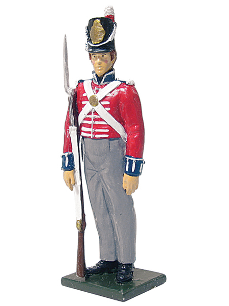 43010 - Private, Battalion Companies, 2nd Foot Guards, 1815