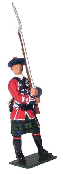 43011 - British Highlander, 42nd Regiment, Light Company, 1754-1763