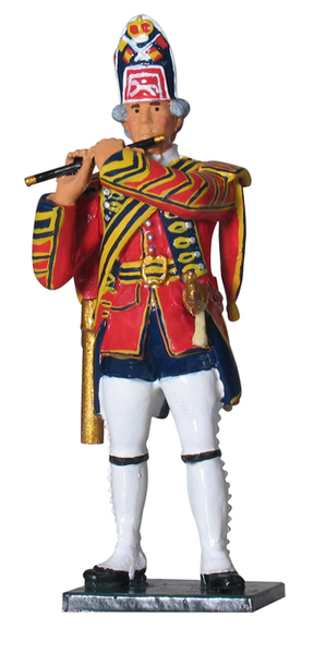 43018 - British Fifer, 1st Foot Guards, 1754-1763