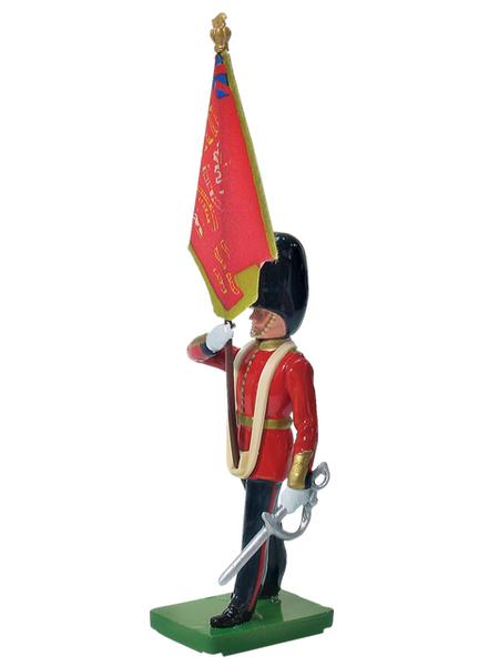 43050 - Scots Guard Colour Bearer, Queen's Colour