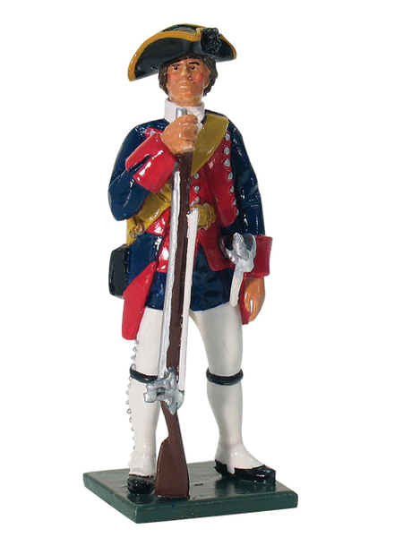 "43070 - Private, The New Jersey Regiment, ""Jersey Blues"" 1755"
