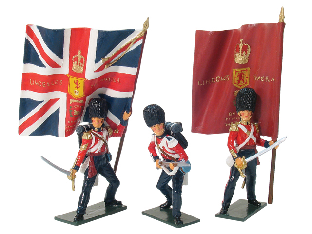 43072 - Victoria Cross Set, Scots Fusilier Guards Defending the Colours, Alma