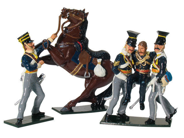 43073 - Victoria Cross Set, Saving Captain Webb-Charge of the Light Brigade
