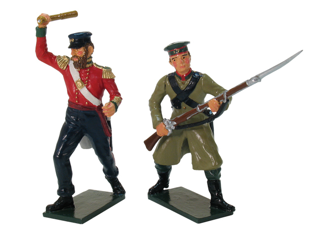 43074 - Victoria Cross Set, Lieutenant JA Connolly, 49th Regiment and Russian from the Borodino Regiment, Inkerman