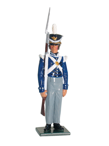 43083 - Private, U.S. Infantry, 1825