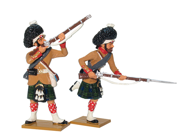 43093 - Britisth 93rd Highlanders Attacking Set No.1