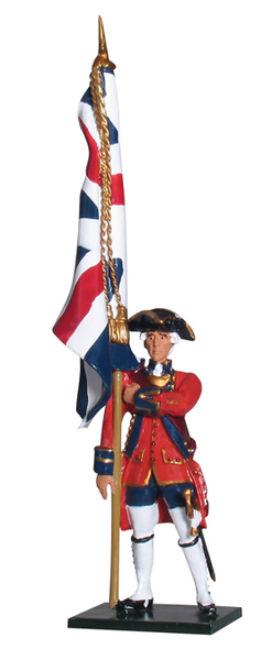 43099 - Ensign, 1st Foot Guards, 1755