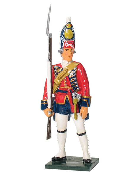 43102 - Grenadier NCO, 1st Foot Guards, 1755