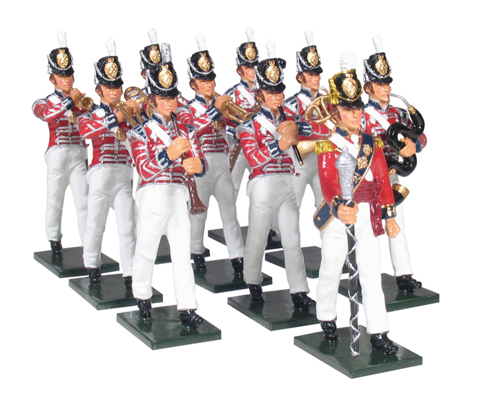 43103 - The Band of the Coldstream Regiment of Foot Guards, Napoleonic Wars, 1815