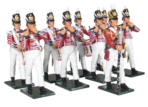 43104 - Field Musick of the Coldstream Regiment of Foot Guards, Napoleonic  Wars, 1815