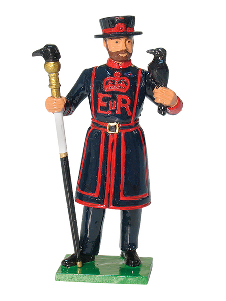 43113 - Ravenmaster, Tower of London