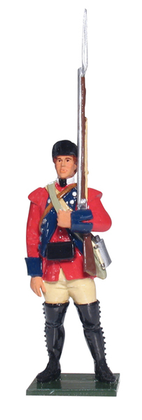 43120 - Provincial Private, 60th (Royal America) Regiment of Foot, Light Company, 1754-1763