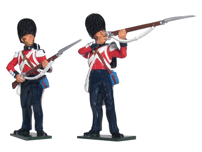 43126 - British Scots Fusiliers Firing Line Set No.1