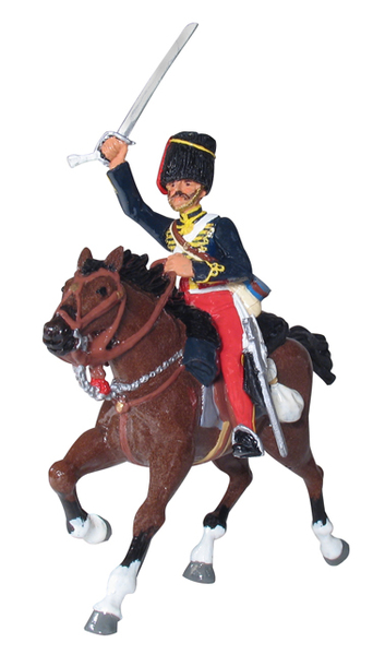 43127 - British 11th Hussar Charging Set No.1