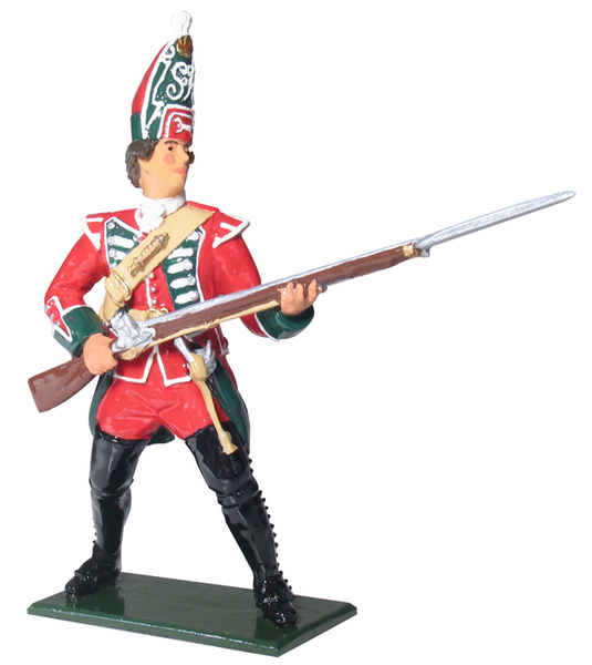 43142 - British Grenadier, 45th Regiment of Foot, 1754-1763