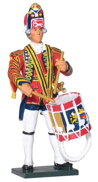 43143 - British Drummer, 1st Foot Guards, 1754-1763