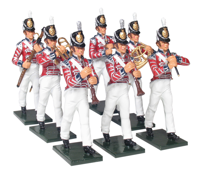 43158 - The Band of the Coldstream Regiment of Foot Guards, Add-on Set, Napoleonic Wars, 1815