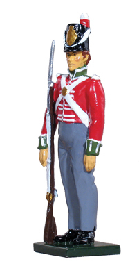44001 - Private, 54th Regiment of Foot, 1812-1815