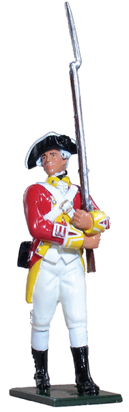 44003 - Private, 29th Regiment of Foot, 1768-1770