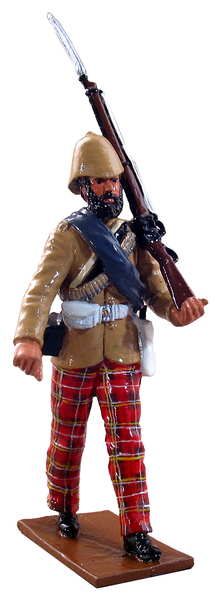 44010 - Highlander, 72nd Regiment, 1879