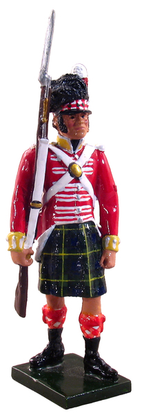 44015 - Highlander, 92 (Gordon Highlanders) Regiment, 1815