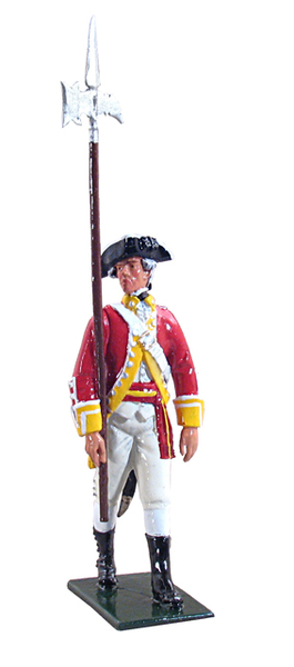 44024 - NCO 29th Regiment of Foot, 1768