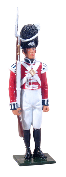 44026 - Guardsman, 2nd (Coldstream) Guards in Full Dress, 1815